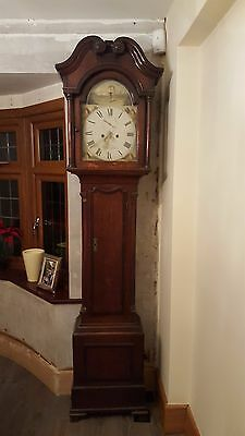 A well proportioned Long case Clock by John Garrat of Peterborough Circa 1830 • £995.00