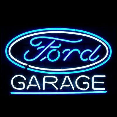 """New Ford Garage Car Auto Neon Light Sign 18""""x14"""""""