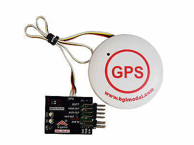 6-Achs-Flächengyro Flight Controller mit GPS, Return-To-Home Funktion