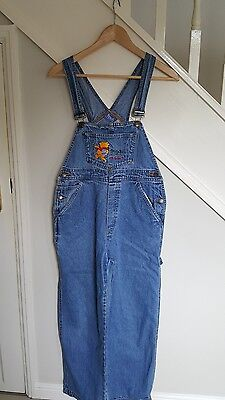Winnie the Pooh Womens Denim Dungarees -  size S - Good condition