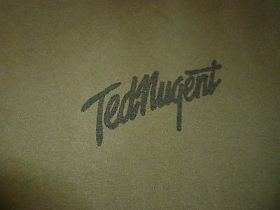 Ted Nugent Shirt ( Used Size L ) Good Condition!!!