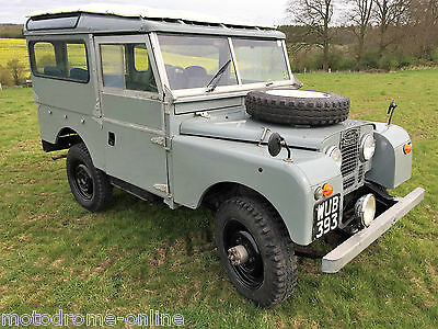 Lovely 1956 Land Rover Series 1 86 Inch 2.0 Station Wagon 7 Seater