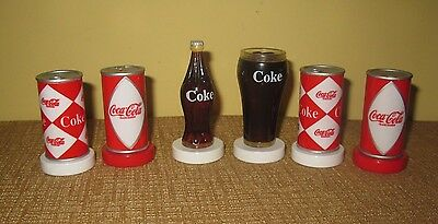 2004 Coca Cola Chess Game Collectors Edition soda can game piece doll size