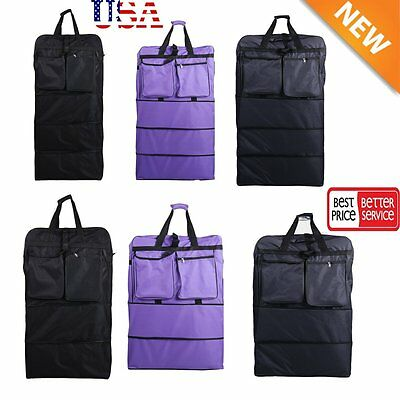 """36"""" / 40"""" Expandable Rolling Duffel Bag Wheeled Spinner Suitcase Luggage NEW VP"""