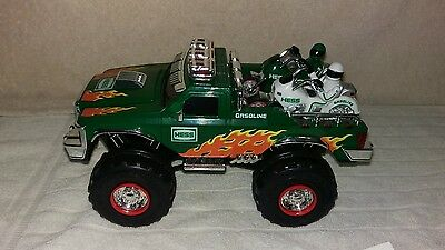 Hess Monster Truck With Motorcycles, 2007
