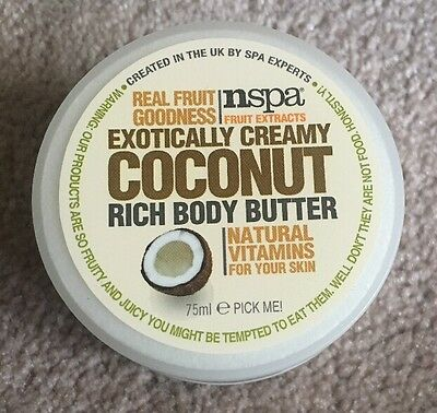 Exotically Creamy Coconut Rich Body Butter. Nspa. 75ml.