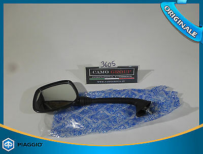 Specchietto Retrovisore Sinistro Rear View Mirror Left Piaggio Vespa Cosa 125