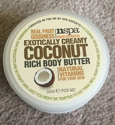 Nspa Extremely Creamy Coconut Rich Body Butter. 50ml.
