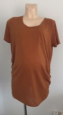 Two New Look Maternity Tops Size 14