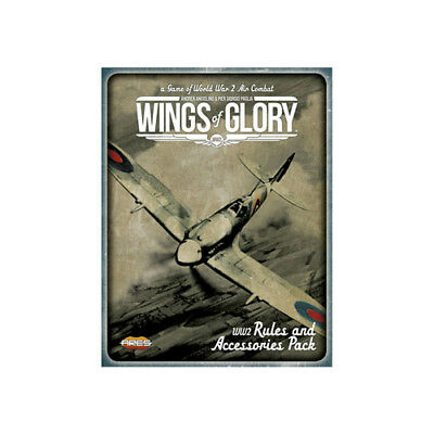 Wings of Glory WW2 - Rules and Accessories Pack und Airplane Packs Combo   WGS60