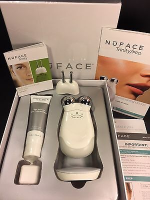 NuFACE Trinity with ELE And Facial Trainer Attachments