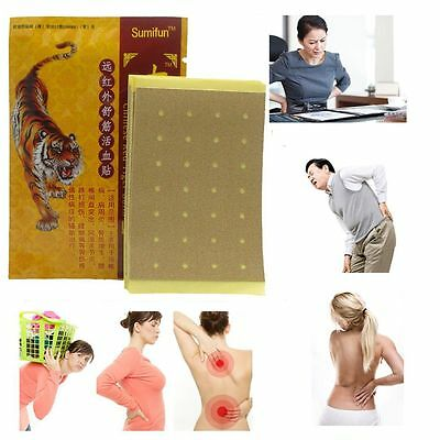 8Pcs Pain Relief Patch Chinese Tiger Balm Body Massage Medical Plaster