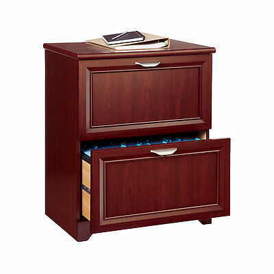 Realspace Magellan Collection 2-Drawer Lateral File Cabinet, Cherry (544707)
