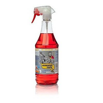 Tuga Chemie Alu Teufel Liquid Aluminium Iron Decontamination Wheel Cleaner  1L