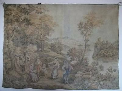 Gorgeous French Vintage Chateau Dancing Scene Tapestry
