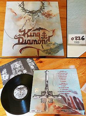 "KING DIAMOND""The House of God""-LP 1st press LTD Hand Numbered!! Ultra RARE!"