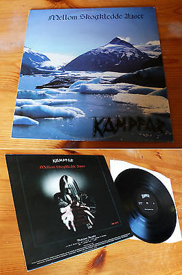 "KAMPFAR-""Mellom Skogkledde Aaser""-LP 1st press on Malicious Records;enslaved"