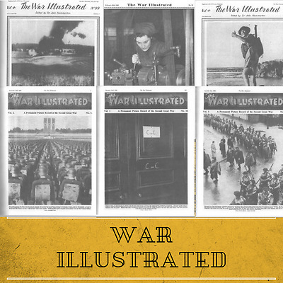 THE WAR ILLUSTRATED - 255 Vintage Magazines on DVD - Conflict, Land, Sea and Air