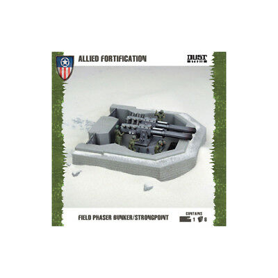 Dust Tactics - Allies Field Phaser Bunker - Strongpoint