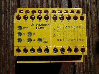 Safety Relay R1.188.1080.1 Wieland Sn0 2012 Used
