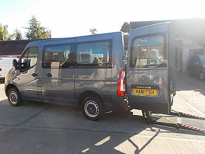 Wheelchair Accessible Wav Disabled 2011 Renault Master  Diesel 5 Seats + W-Chair