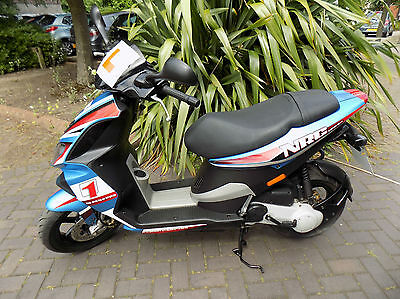 Piaggio Nrg50 2008 3473K Full Power Scooter Hpi Clear Italian Scooter Sr50 Style