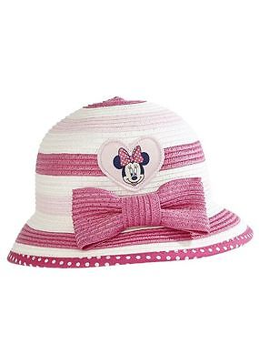 BNWT New Disney Minnie Mouse Sun Hat Age  0 - 6 months ; away 26th june-5th july
