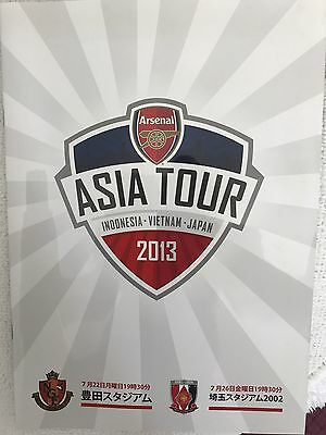 Dual 2 Match Programme For Pre Season Friendly Played In Japan, July 2013