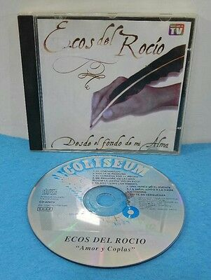 Cd Audio Original - Ecos Del Rocio - Amor Y Coplas