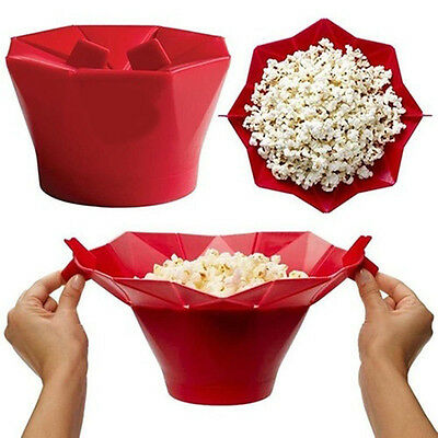 GOOD Silicone Microwave Household Popcorn Maker Container Healthy Cooking Tool