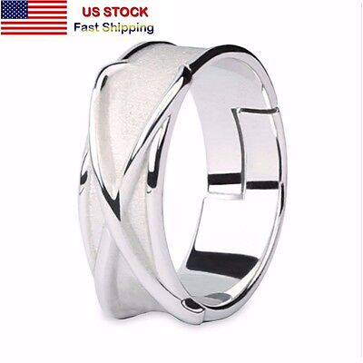 Anime Super Dragon Ball Z DBZ Black Son Gokou Time Silver Finger Ring Cosplay