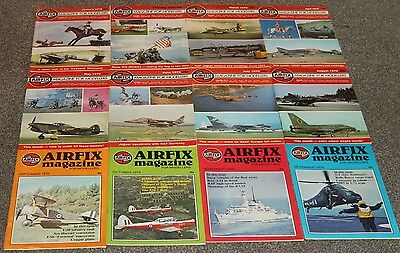12 x AIRFIX MAGS 1979 - AIRCRAFT & SCALE MODEL MAGAZINES SALE - JOBLOT 25