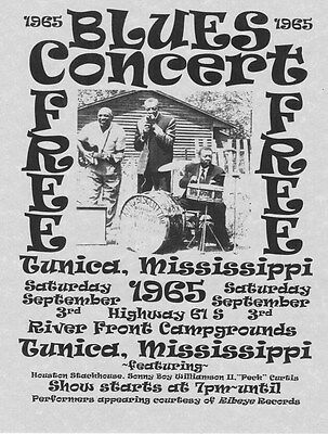 Sonny Boy Williamson~Blues Poster Concert Music Guitar Harmonica Singer Album