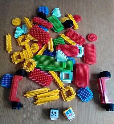 * Assorted Collection Of Over 50 Pieces Of  Sticklebricks *