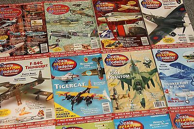 36 x SCALE AIRCRAFT MODELING - AIRCRAFT & SCALE MODEL MAGAZINES SALE  JOBLOT 34