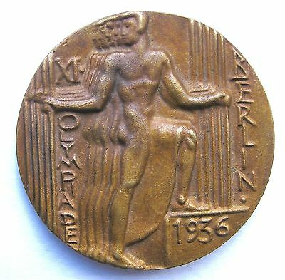 1936 Olympic Participant Medal Berlin - Otto Placzek
