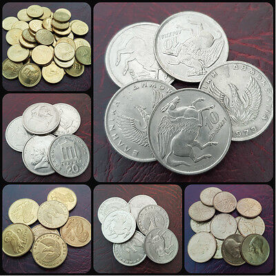Greece Various Drachmas Coins - Choose Your Type/year! Free Uk Post!