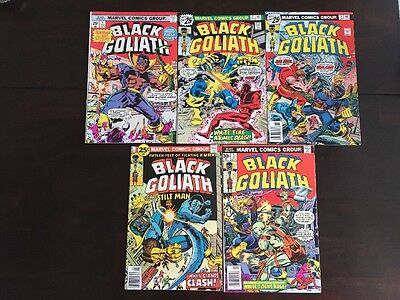 Black Goliath #1-5 1 2 3 4 5 Full Run/Set (1976, Marvel)