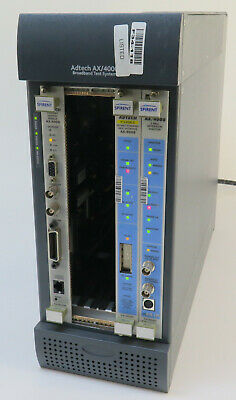 Spirent 500100 AX/4000 Broadband Test System with cards