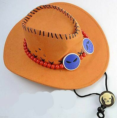 HOT New Portgas D Ace Cosplay Hat Cap Costume Free Shipping