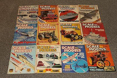 12 x SCALE MODEL MAGS 1978 - AIRCRAFT & SCALE MODEL MAGAZINES SALE - JOBLOT 39