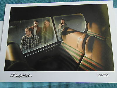 "The Gaslight Anthem 12"" X 8"" Limited Edition Art Print 166/250 Made-Mint"