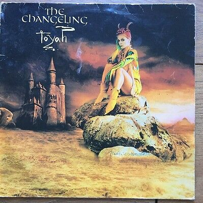 Toyah The Changeling 1982 Lp Lyric Inner Excellent Condition