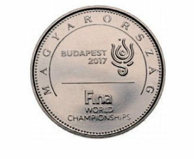 HUNGARY – 2017 NEW ISSUE 50 Forint UNC COIN 17 FINA World Championships