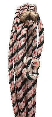 Element Series Open Range Ranch Rope 85/15 Blend 3/8 SCT x 40 XS Black/White/Red