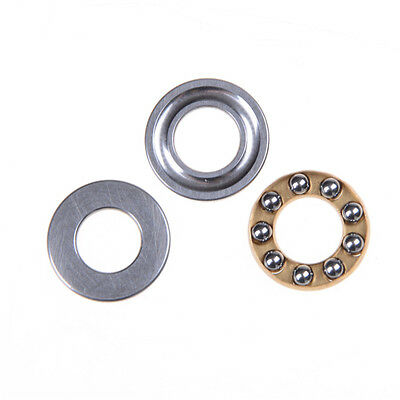 10pcs Axial Thrust Ball Bearings 8mm x 16mm x 5mm F8-16M Stainless Steel SWUK