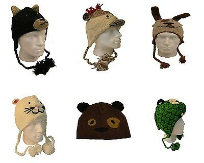 Job Lot Wholesale 24 Brand New Mens/womans/kids Animal Hats (W)