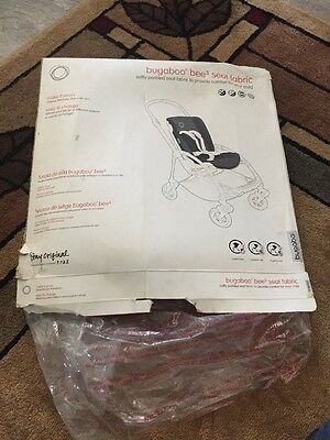 Bugaboo Bee3 Seat Fabric ~ Grey Melange ~ New In Opened Box!