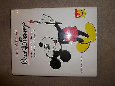 """Disney book """"The Art of Walt Disney From Mickey Mouse to the Magic Kingdom"""""""