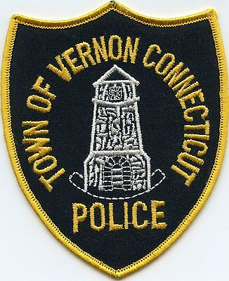 Vernon Connecticut Ct Police Patch
